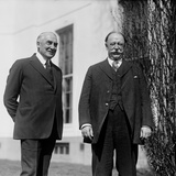 President Warren Harding and Former President Howard Taft at the White House Photo