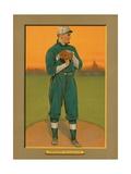 Baseball Card of Walter Johnson, Washington Senators, by the American Tobacco Company, 1911 Giclee Print