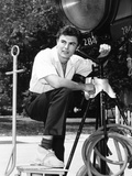 Rock, Pretty Baby, John Saxon, On-Set, 1956 Photo