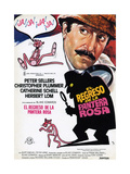 The Return of the Pink Panther, (AKA El Regreso De La Pantera Rosa), Peter Sellers, 1975 Giclee Print