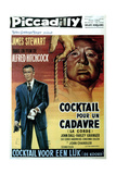 Rope, (AKA Cocktail Pur Un Cadavre), James Stewart, Director Alfred Hitchcock, 1948 Giclee Print