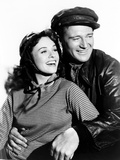 Reap the Wild Wind, from Left, Paulette Goddard, John Wayne, 1942 Photo
