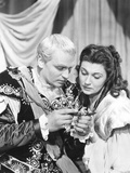 Hamlet, from Left: Laurence Olivier, Eileen Herlie, 1948 Photo
