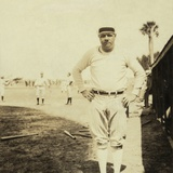 Babe Ruth, at Spring Training in St. Petersburg, Florida, 1930 Photo