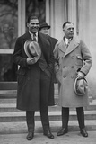 Jack Dempsey and His Manager, Jack Kearns, at the White House, Feb. 22, 1924 Photo