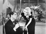 Topper, from Left: Cary Grant, Constance Bennett, 1937 Photo