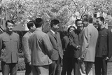 President Richard Nixon Greeting Members of the Chinese National Table Tennis Team Photo