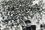 President Gerald Ford Campaigns in Walnut Creek, California, May 26, 1976 Photo