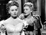 The Fan, from Left, Jeanne Crain, Madeleine Carroll, 1949 Photo