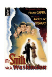 Mr. Smith Goes to Washington, (AKA Mr. Smith Va a Washington), James Stewart, Jean Arthur, 1939 Giclee Print