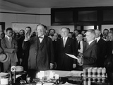 Former President William Howard Taft Being Sworn in as Chief Justice of the Supreme Court Photo