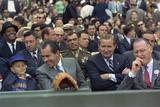 President Richard Nixon Enjoys Opening Day at Rfk Stadium, April 7, 1969 Photo