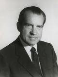 President Richard Nixon in His First Term Official Portrait, 1969 Photo