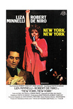 New York, New York, from Left: Robert De Niro, Liza Minnelli, 1977 Giclee Print