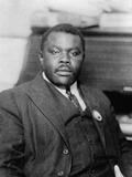 Marcus Garvey, Jamaican Black Nationalist and Separatist, Ca. 1920 Photographie