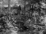 President Herbert Hoover's Camp on the Rapidan River, August 17, 1929 Photo