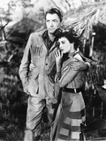 The Snows of Kilimanjaro, from Left, Gregory Peck, Ava Gardner, 1952 Photo