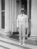 Herbert Hoover at the White House, Ca. 1917-20 Photo