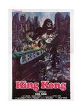 King Kong, Italian Poster Art, 1976 Giclée-trykk