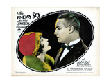 The Enemy Sex, from Left, Betty Compson, Huntley Gordon, 1924 Giclee Print