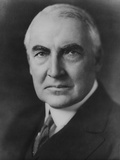 Senator Warren Harding, Shortly after His Nomination as the Republican Candidate for US Presidency Photo