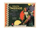My American Wife, Gloria Swanson, 1922 Giclee Print