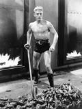 Flash Gordon, Buster Crabbe, 1936 Photo