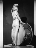 Footlight Serenade, Betty Grable, 1942 Photo