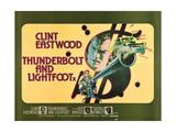 Thunderbolt and Lightfoot, 1974 Giclee Print