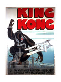 King Kong, French Poster Art, 1933 Giclee Print