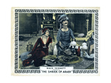 The Shriek of Araby, from Left, Kathryn Mcguire, Ben Turpin, 1923 Giclee Print