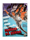 The Prisoner of Zenda, (AKA Fangen Pa Zenda), 1952 Giclee Print