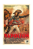 Napoleon, French Poster Art, Albert Dieudonne, 1927 Giclee Print