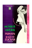 The Prince and the Showgirl, (AKA I Prinsen Och Balett-Flickan), 1957 Giclee Print