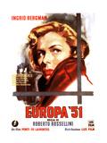 Europa '51, (AKA the Greatest Love), Ingrid Bergman, 1952 Giclee Print