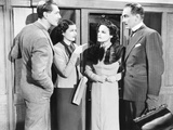 The Lady Vanishes, from Left: Michael Redgrave, Margaret Lockwood, Linden Travers, Paul Kukas, 1938 Photo
