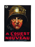 All Quiet on the Western Front, (AKA a L'Ouest Rien De Nouveau), Belgian Poster Art, 1930 Giclee Print
