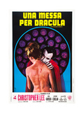 Taste the Blood of Dracula, (AKA Une Messa Per Dracula), Italian Poster Art, 1970 Giclee Print