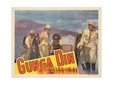 Gunga Din, Douglas Fairbanks Jr. (Gun), Victor Mclaglen (Sword), 1939 Giclee Print