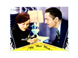 The Thin Man, from Left, Maureen O'Sullivan, William Powell, 1934 Giclee Print