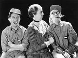 Hold 'Em Jail, from Left: Bert Wheeler, Edna May Oliver, Robert Woolsey, 1932 Photo