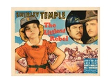 The Littlest Rebel, from Left: Shirley Temple, Jack Holt, John Boles, 1935 Giclee Print