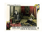 The Ten Commandments, from Left: Leatrice Joy, Nita Naldi, Rod La Rocque, 1923 Giclee Print