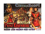 Prince Valiant, (AKA Prinz Eisenherz), 1954 Giclee Print