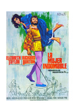 The Taming of the Shrew, (AKA La Mujer Indomable), 1967 Giclee Print