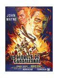 Flying Leathernecks, (AKA Les Diables De Guadacanal), Robert Ryan, John Wayne, 1951 Giclee Print