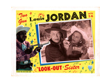 Look-Out Sister, from Left, Louis Jordan, Monte Hawley, Suzette Harbin, 1947 Giclee Print