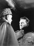 Paths of Glory, from Left, George Maccready, Kirk Douglas, 1957 Photo