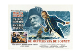 Mutiny on the Bounty, Aka De Muiters Van De Bounty), 1962 Giclee Print