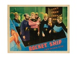 Flash Gordon, (AKA Rocketship), 1936 Giclee Print